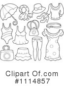 Royalty-Free (RF) clothes Clipart Illustration #1114857