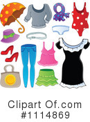 Royalty-Free (RF) Clothes Clipart Illustration #1114869