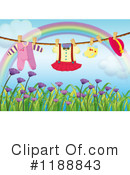 Clothesline Clipart #1188843 by Graphics RF