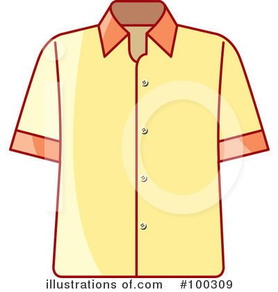 Shirt Clipart #100309 by Lal Perera