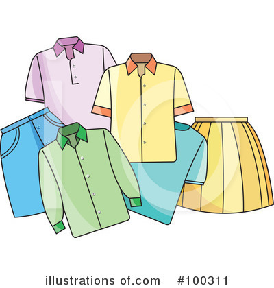 Fashion Clipart #100311 by Lal Perera