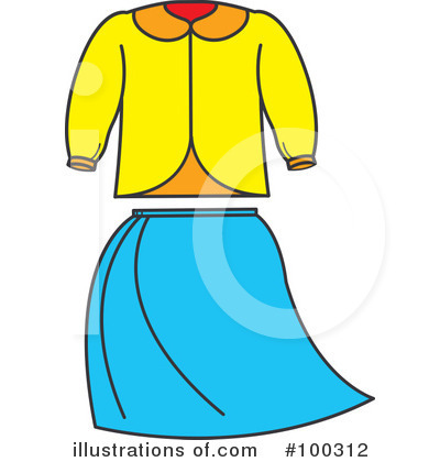 Shirt Clipart #100312 by Lal Perera