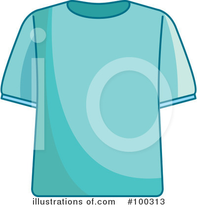 Shirt Clipart #100313 by Lal Perera