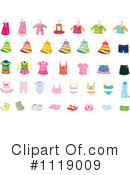 Royalty-Free (RF) Clothing Clipart Illustration #1119009