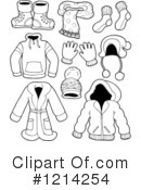 Royalty-Free (RF) Clothing Clipart Illustration #1214254