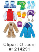 Royalty-Free (RF) Clothing Clipart Illustration #1214291