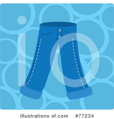 Royalty-Free (RF) Clothing Clipart Illustration by Rosie Piter - Stock Sample #77234