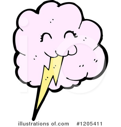 Lightning Clipart #1205411 by lineartestpilot