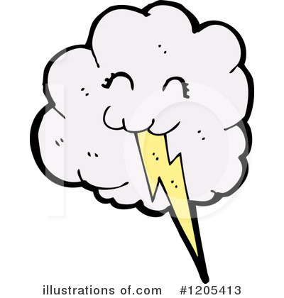 Lightning Clipart #1205413 by lineartestpilot