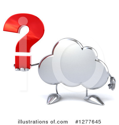 Cloud Character Clipart #1277645 by Julos