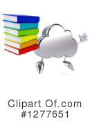 Cloud Character Clipart #1277651 by Julos