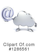 Cloud Character Clipart #1286561 by Julos