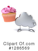 Royalty-Free (RF) Cloud Character Clipart Illustration #1286569