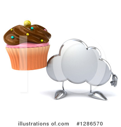 Cloud Character Clipart #1286570 by Julos