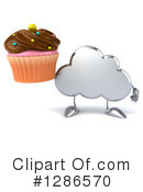 Royalty-Free (RF) Cloud Character Clipart Illustration #1286570