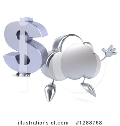 Cloud Character Clipart #1288768 by Julos