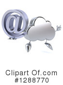 Royalty-Free (RF) Cloud Character Clipart Illustration #1288770