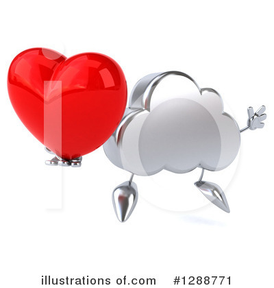 Cloud Character Clipart #1288771 by Julos