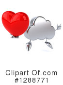 Royalty-Free (RF) Cloud Character Clipart Illustration #1288771