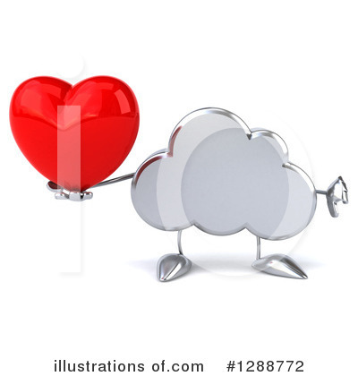 Cloud Character Clipart #1288772 by Julos
