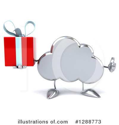 Cloud Character Clipart #1288773 by Julos