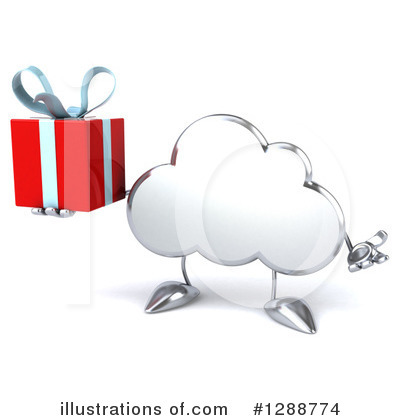 Cloud Character Clipart #1288774 by Julos