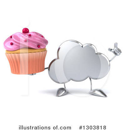 Cloud Character Clipart #1303818 by Julos