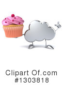 Royalty-Free (RF) Cloud Character Clipart Illustration #1303818