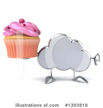 Cloud Character Clipart #1303819 by Julos