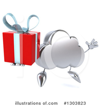 Cloud Character Clipart #1303823 by Julos