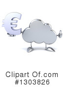 Royalty-Free (RF) Cloud Character Clipart Illustration #1303826