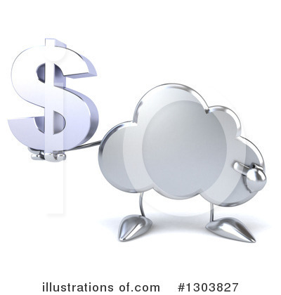 Cloud Character Clipart #1303827 by Julos