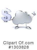 Royalty-Free (RF) Cloud Character Clipart Illustration #1303828