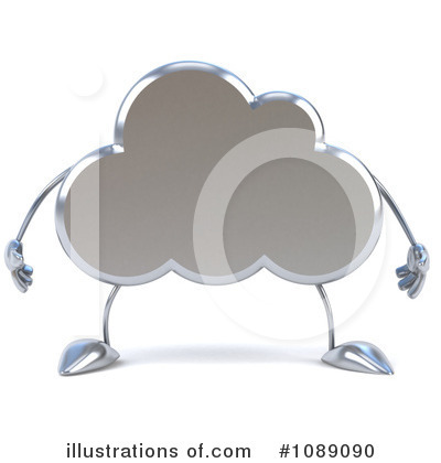 Cloud Character Clipart #1089090 by Julos