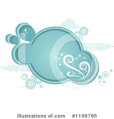 Royalty-Free (RF) Cloud Clipart Illustration by Amanda Kate - Stock Sample #1106795