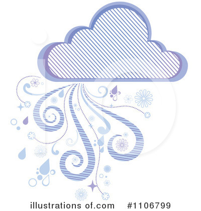 Cloud Clipart #1106799 by Amanda Kate