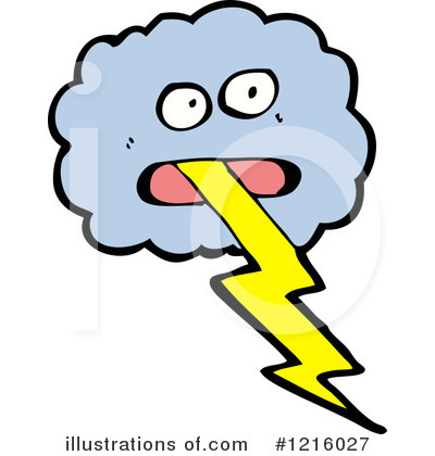 Lightning Clipart #1216027 by lineartestpilot