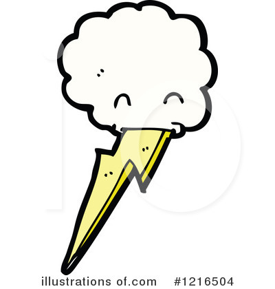 Lightning Clipart #1216504 by lineartestpilot