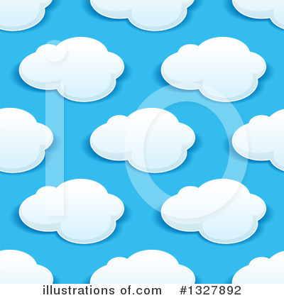 Cloud Clipart #1327892 by Vector Tradition SM