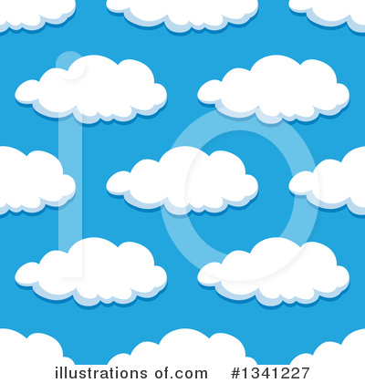 Cloud Clipart #1341227 by Vector Tradition SM