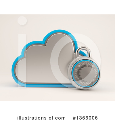 Royalty-Free (RF) Cloud Clipart Illustration by KJ Pargeter - Stock Sample #1366006