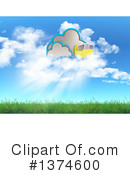 Royalty-Free (RF) Cloud Clipart Illustration #1374600