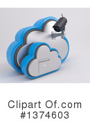 Cloud Clipart #1374603 by KJ Pargeter