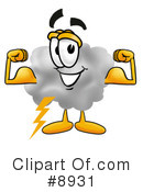 Cloud Clipart #8931 by Toons4Biz