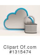 Cloud Server Clipart #1315474 by KJ Pargeter