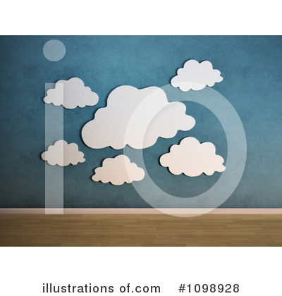Clouds Clipart #1098928 by Mopic