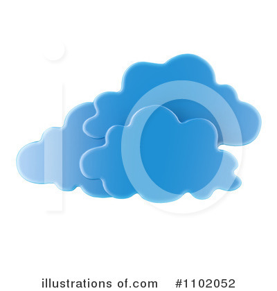Clouds Clipart #1102052 by Mopic