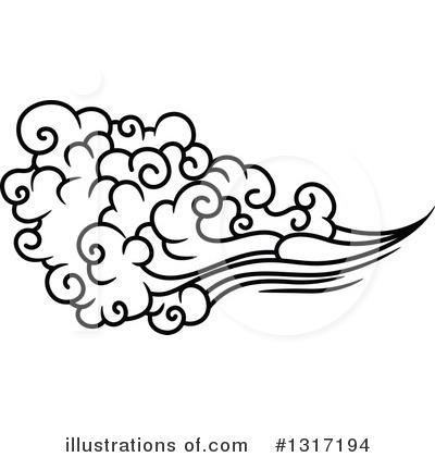 Cloud Clipart #1317194 by Vector Tradition SM