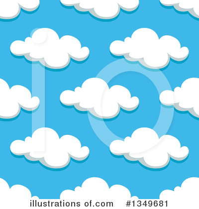Cloud Clipart #1349681 by Vector Tradition SM