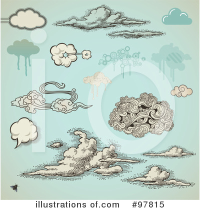 Cloud Clipart #97815 by Anja Kaiser